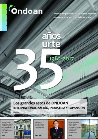 Revista Ondoan 2016/Diciembre