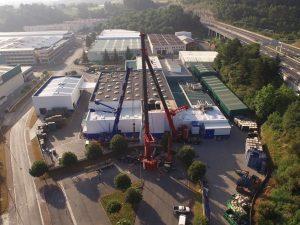 Instalaciones Mecánicas de la ampliación de la nave de FPK en Zamudio