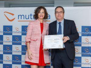 """Mutualia reconoce a ONDOAN Servicios por su contribución """"excelente"""" a la reducción de la siniestralidad laboral"""
