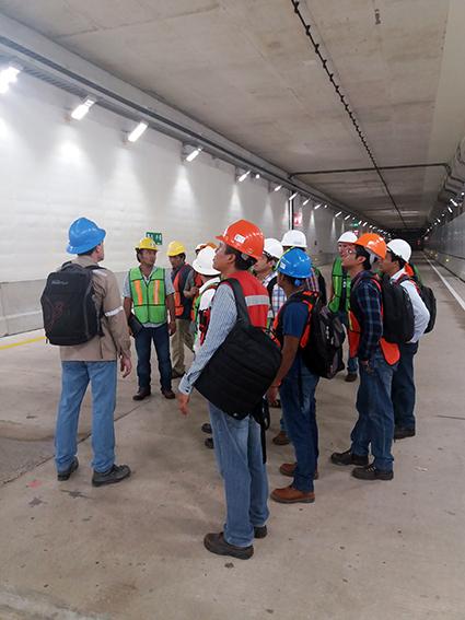 Instalaciones de Protección Contra Incendios en el Túnel de  Coatzacoalcos en Veracruz (México)