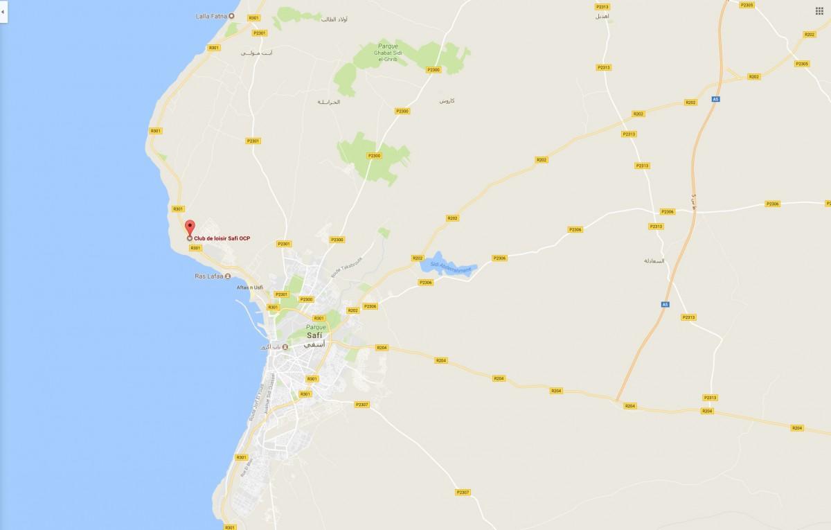 Protección Contra Incendios para Maroc Phosphore-OCP en Safi (Marruecos)