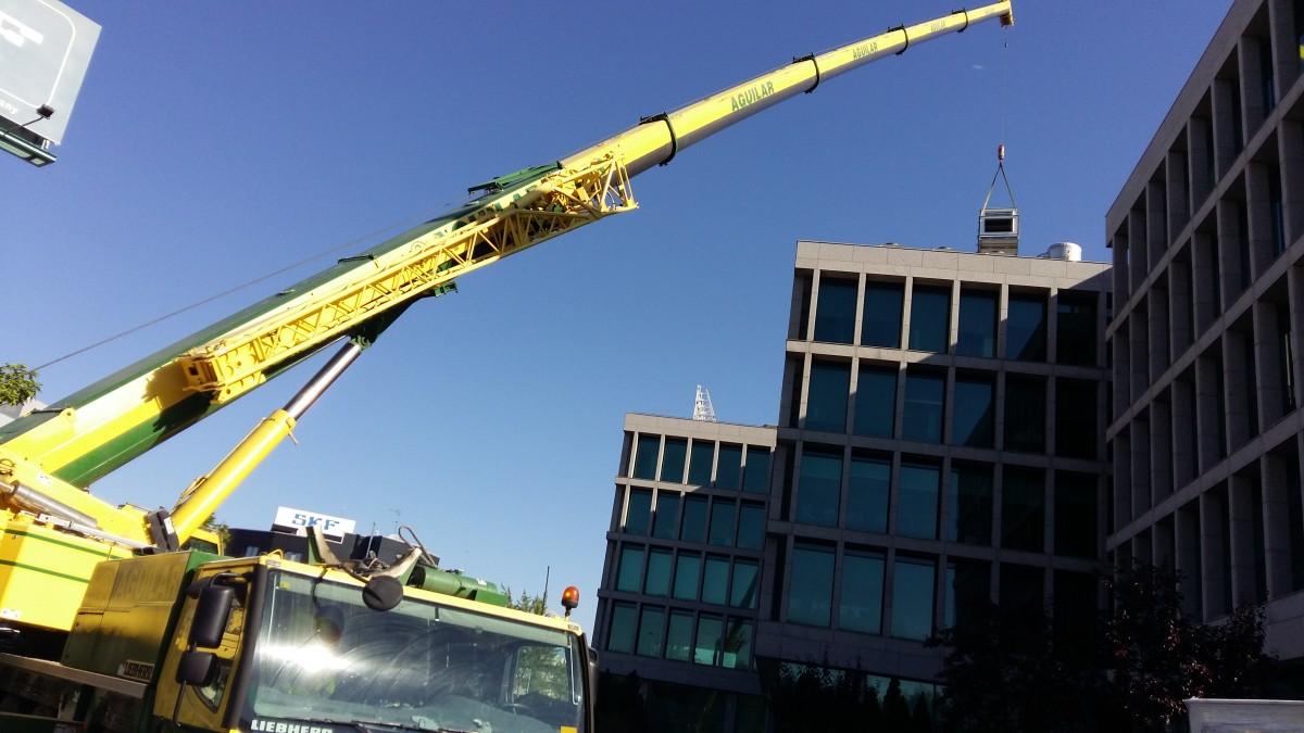 Reforma de las instalaciones de climatización del complejo de oficinas de Aixare de Madrid