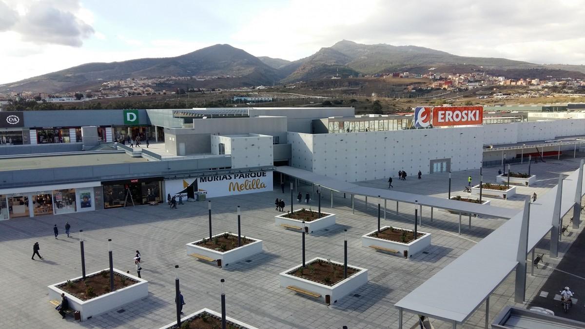 Climatización y Sistemas Contra Incendios del primer Centro Comercial integrado de Melilla