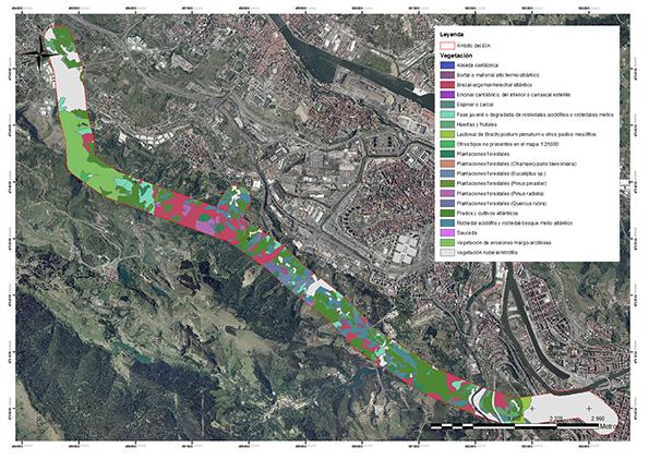 ONDOAN Consultoría Ambiental. Estudio de Impacto Ambiental dentro del Estudio Informativo de la Variante Sur Ferroviaria de Bilbao