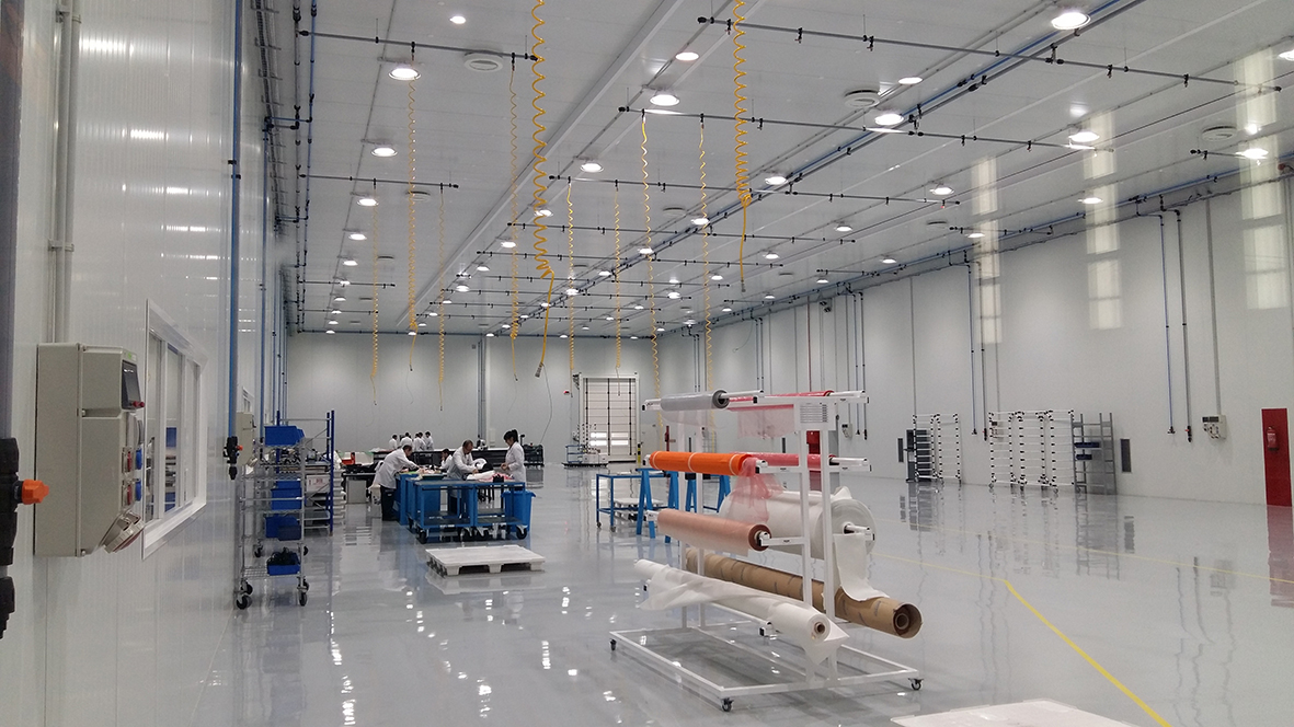"""Instalaciones electromecánicas para las """"Salas Limpias"""" de Aernnova Illescas y Sevilla"""