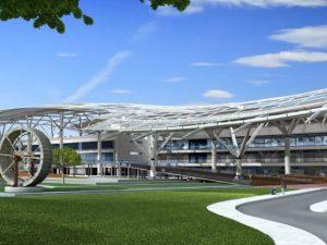 Instalaciones de Climatización, PCI, Sistema de Gestión, Aire comprimido, Enfriamiento por absorción, Instalación solar y Producción de ACS del Campus Tecnológico de Iberdrola en San Agustín de Guadalix (Madrid)