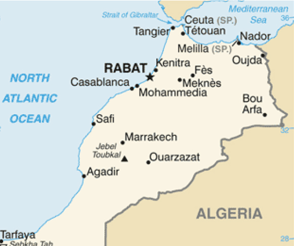 Fire Protection in Morocco for Intecsa