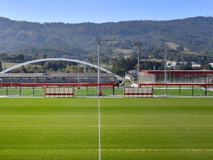 Infraestructura de comunicaciones y seguridad en las instalaciones del Athletic Club de Bilbao en Lezama