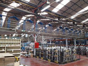 Adecuación de las instalaciones de PCI para Vitrinor en Guriezo (Cantabria)