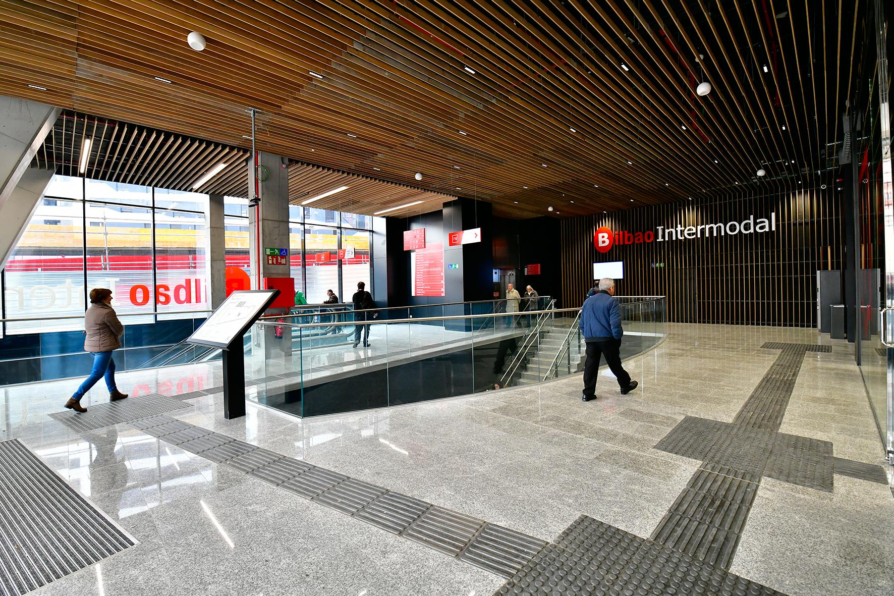 ONDOAN ha ejecutado el Sistema de Protección Contra Incendios en la nueva Intermodal de Bilbao