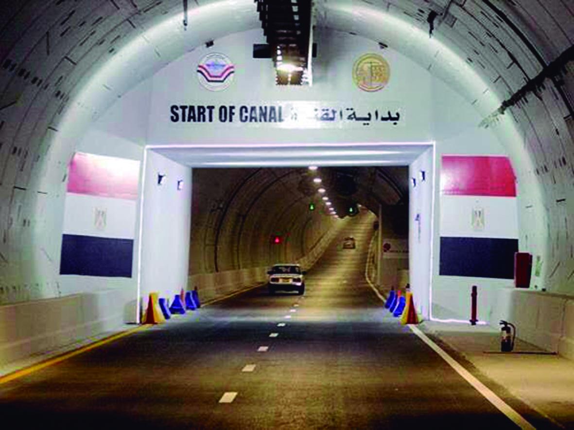 Ondoanek amaitu ditu Egipton dauden Ismailiako tuneletako lanak